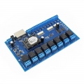 Wifi Network Relay with 8 Inputs and 8 Outputs,Remote Control Switch