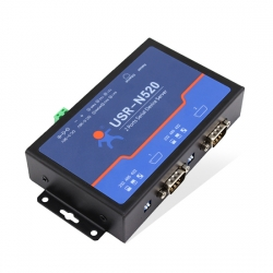 2 Serial ports to Ethernet Device Server with Modbus