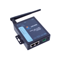 2 Ethernet Port  Serial to WIFI Converter with modbus RTU to TCP