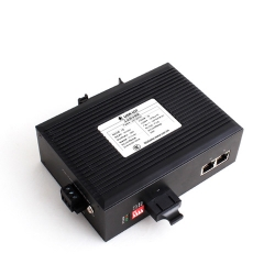 2 Ethernet Ports and 1 Fiber Port industrial ethernet switch