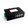 8 LAN Ports 100M Unmanaged Industrial Ethernet Switch