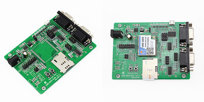 GPRS Module Evaluation Board