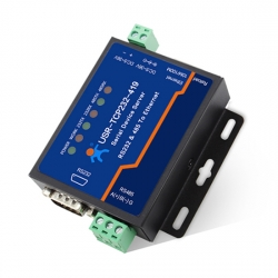 Serial Device Server RS232 RS485 to Ethernet Converter DTR/DSR