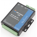 4 Channel WIFI and Ethernet Network IO Controller supports 4 DI/4 DO/2AI/1PT/RS485 port