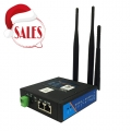 American version Industrial LTE 4G Router with WIFI/Watchdog gets ATT certification