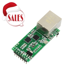 Serial UART TTL to Ethernet Module