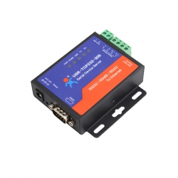 Low cost Serial RS232 RS485 RS422 to Ethernet TCP/ IP Converter