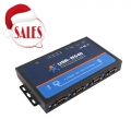 4 Serial Ports RS232/RS485/RS422 to Ethernet Converter Server