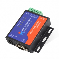 Low cost Serial RS232 RS485 RS422 to Ethernet TCP IP Device Server
