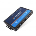 4 Serial Ports RS232/RS485/RS422 to Ethernet modbus Converter