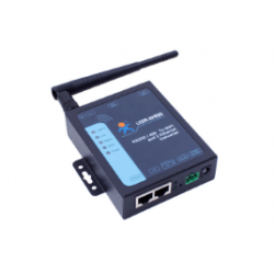 Industrial Serial to WIFI and Ethernet Converter supports two ethernet ports, modbus RTU