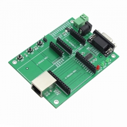 Serial UART TTL to Ethernet TCP/IP Module Evaluation Board